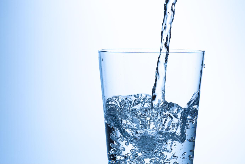水を飲むメリットについて。